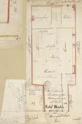 [Plan of property on Basinghall Street] 115C